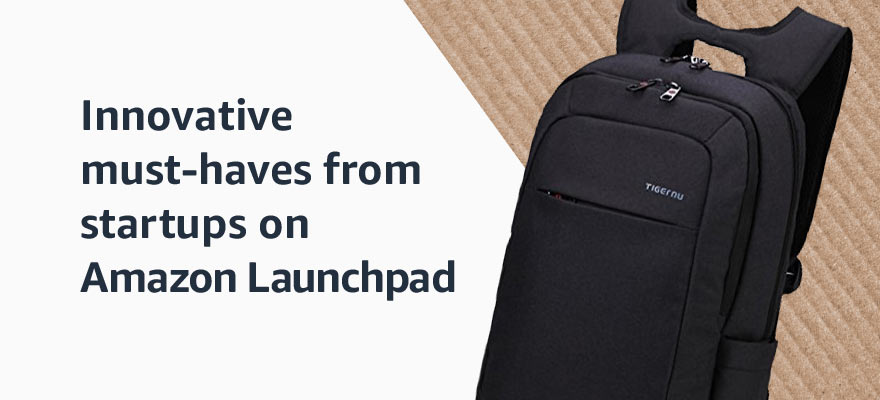 Innovative must-haves from startups on Amazon Launchpad