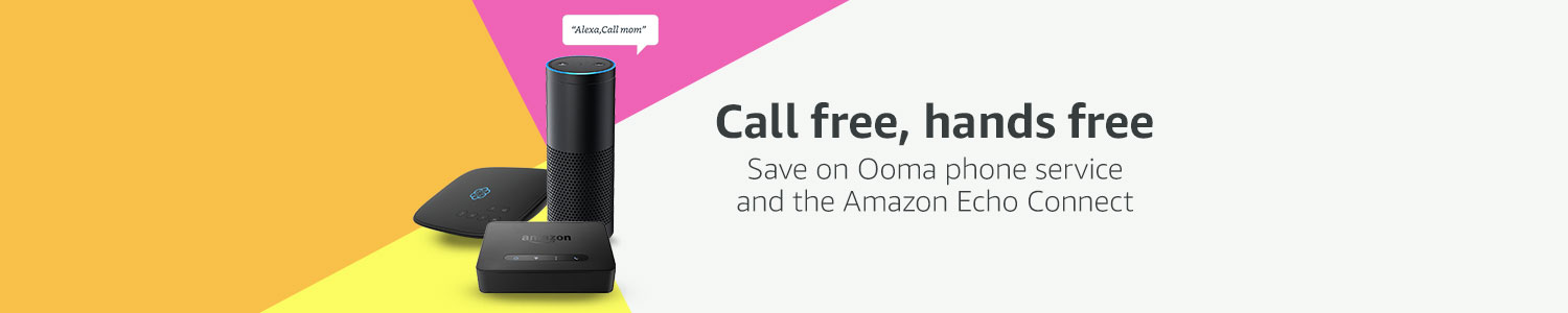 Voice call with Ooma and Alexa