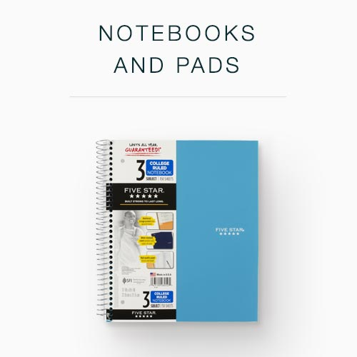 Image of Notebooks for Notebooks and Pads