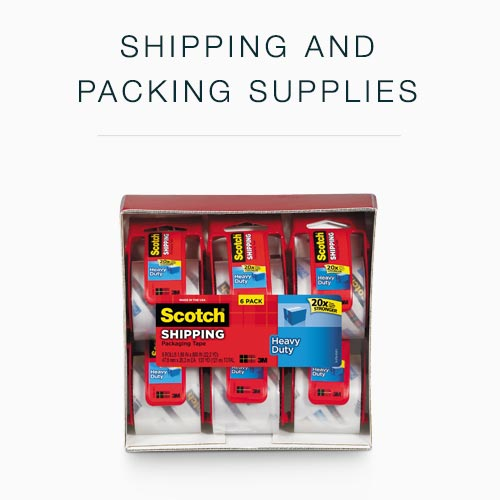 Shipping and Packing Supplies