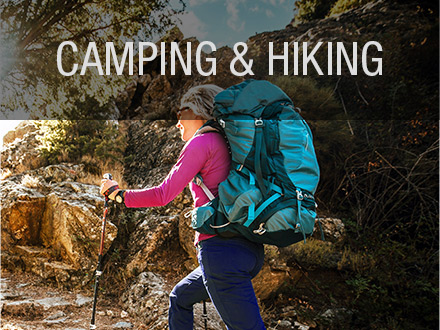 Camping and Hiking