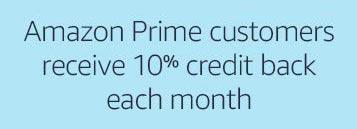 Prime members get credit back