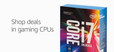 Shop deals in gaming CPUs