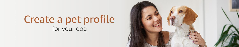 Create a pet profile
