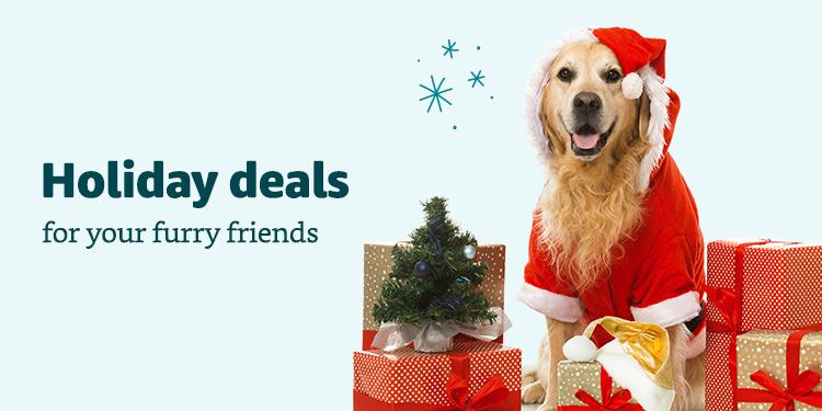 Holiday Pet Deals