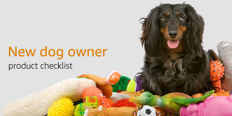 New dog owner product checklist