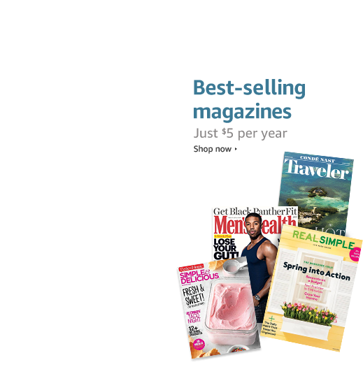 Best-selling magazines: Just $5