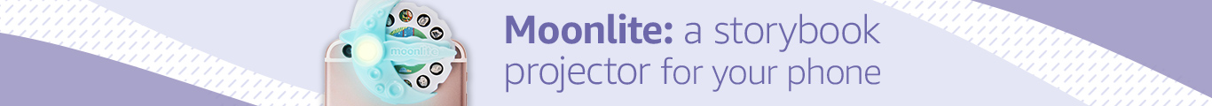 Moonlite: storybook projector for your mobile phone