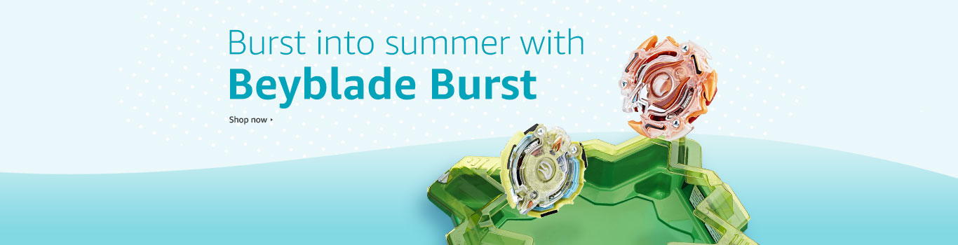 Burst into summer with Beyblade Burst