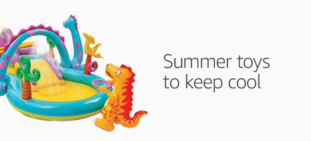 Summer toys to keep cool