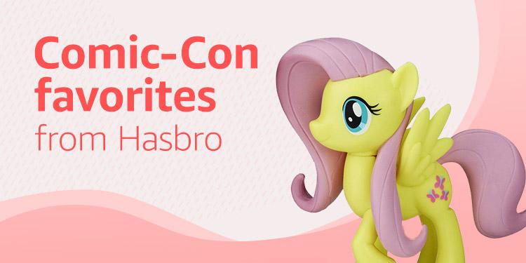 Comic-Con favorites from Hasbro