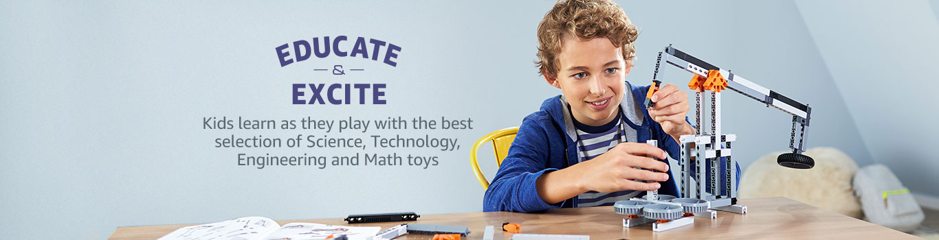 Kids learn as they play with STEM Toys