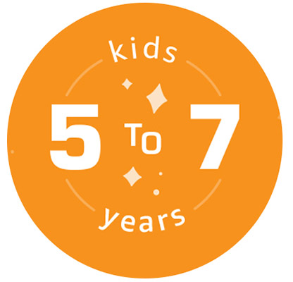 kids 5 to 7 years