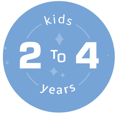 kids 2 to 4 years