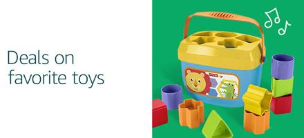 Deals on favorite toys