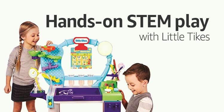 STEM toys from Little Tikes