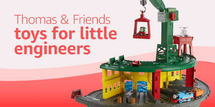 Thomas & Friends toys for your little engineers