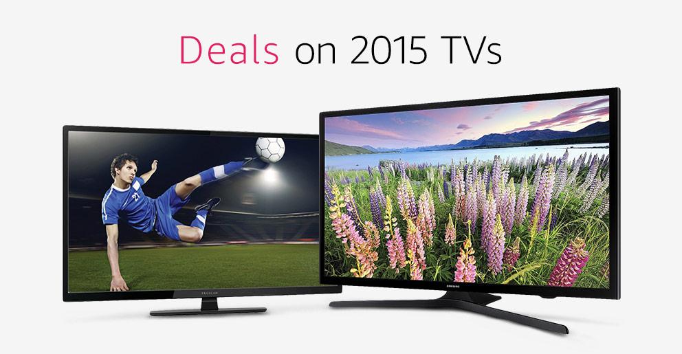 Amazon Warehouse 2015 TVs