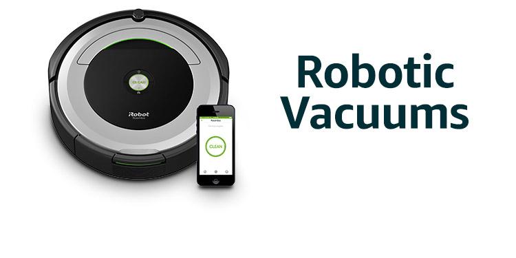 Amazon Warehouse robotic vauums