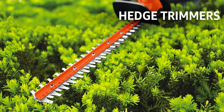 Amazon Warehouse hedge trimmers