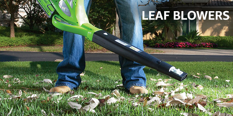 Amazon Warehouse leaf blowers