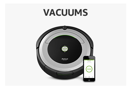 Amazon Warehouse used vacuums