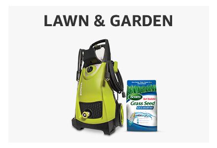 Amazon Warehouse used lawn & garden