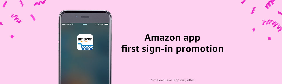 First sign-in promotion