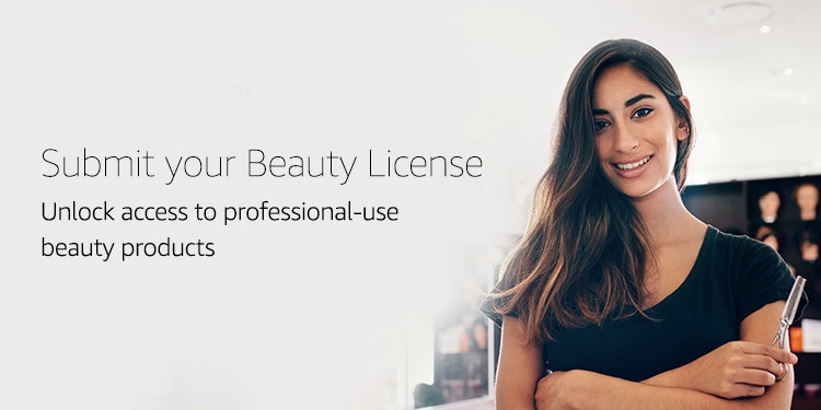 Submit your beauty license credentials for approval
