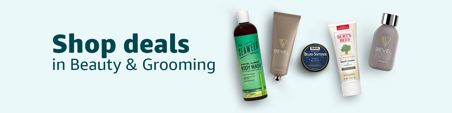 Shop deals in Beauty & Grooming