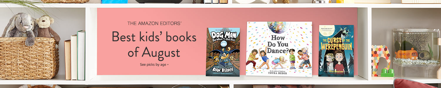 Best kids' books of August