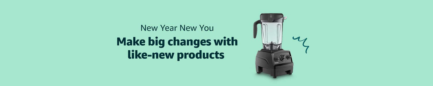 New Year New You in Amazon Renewed
