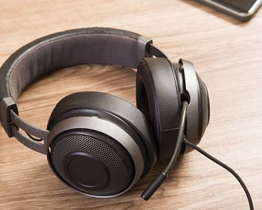 Headphones for work or play from Amazon Renewed.