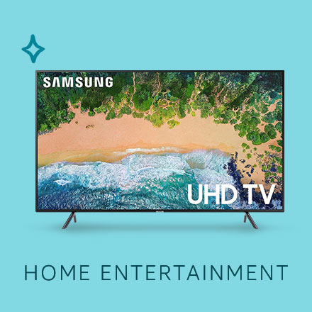 Gift ideas in Home Entertainment. Amazon Renewed Gift Guide.