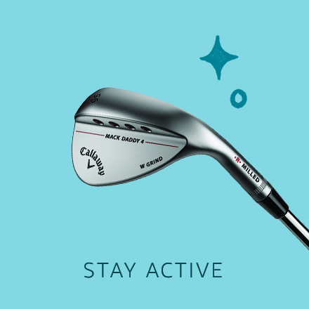 Stay active. Renewed Gift Guide.