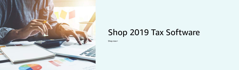 Shop 2019 Tax Software