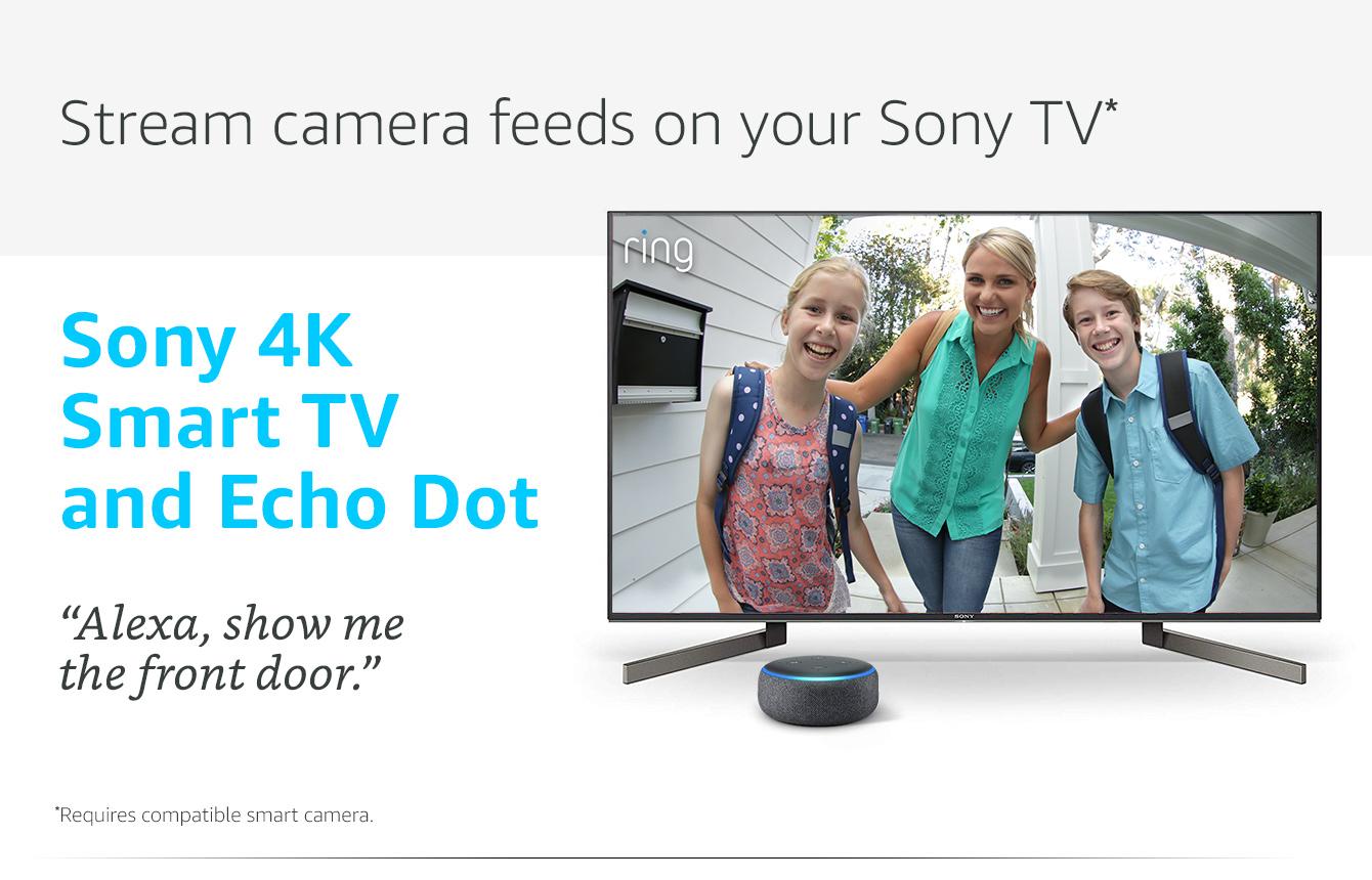Sony TV plus free Echo Dot @ Amazon com