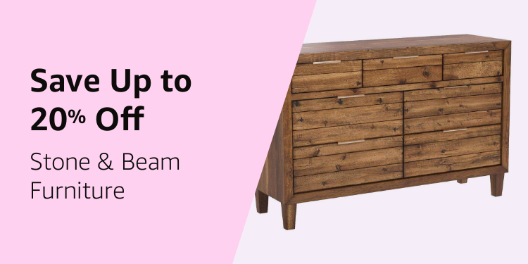 Save up to 20% off Stone & Beam Furniture