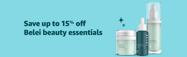 Save up to 15% off Belei beauty essentials