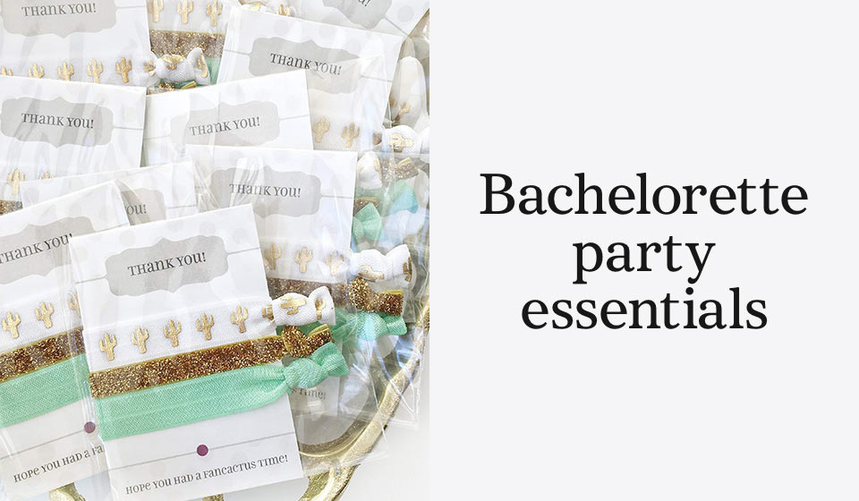 Bachelorette party essentials