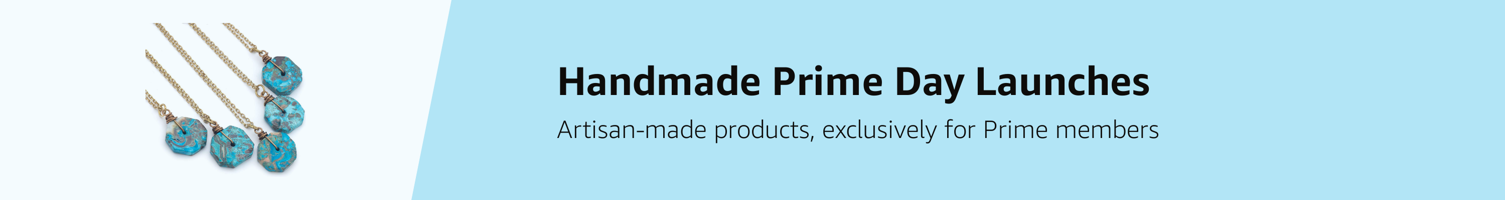 Handmade Prime Day Launches