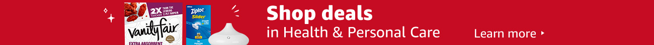 Shop deals in Health & Personal care