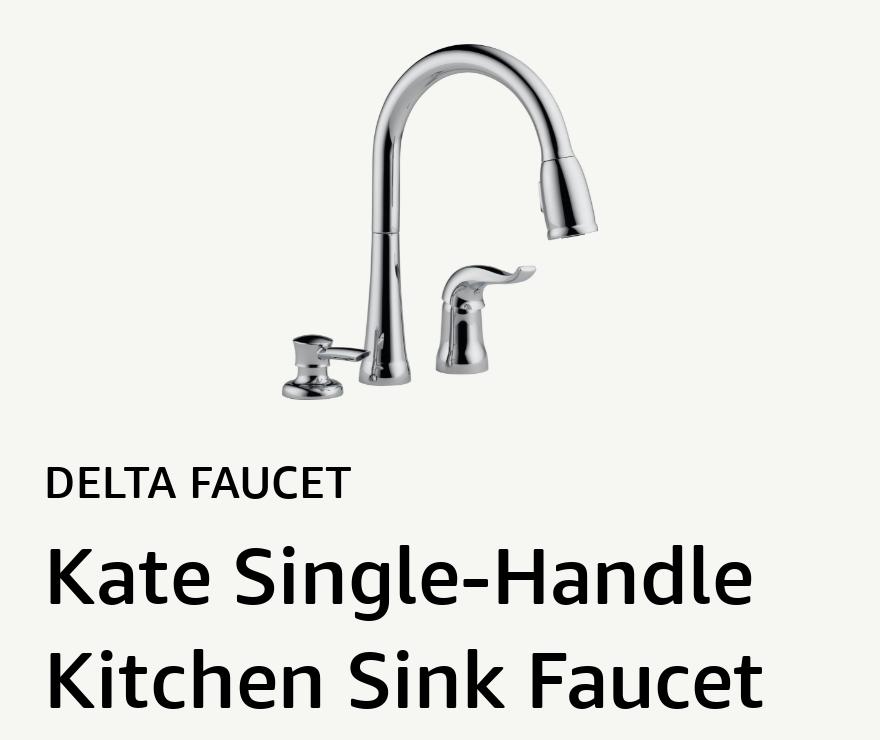 Kate Single-Handle Kitchen Sink Faucet