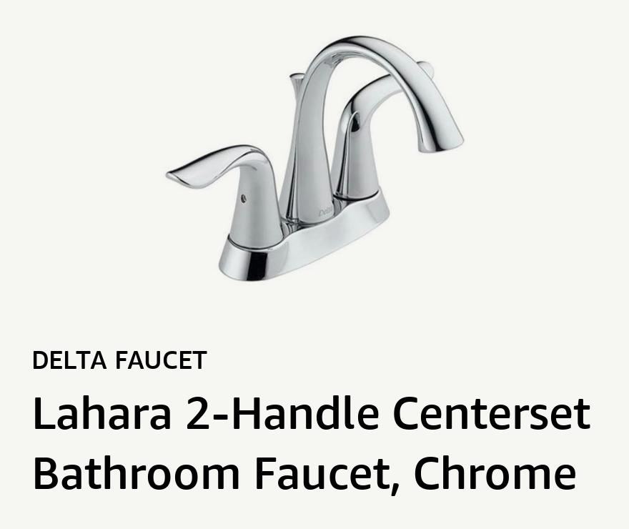 Delta Faucet Lahara 2-Handle Centerset Bathroom Faucet