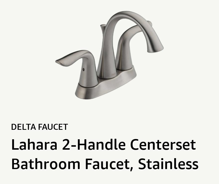 Lahara 2-Handle Centerset Bathroom Faucet