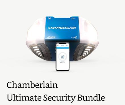 Chamberlain Garage Door Opener Ultimate Security Bundle