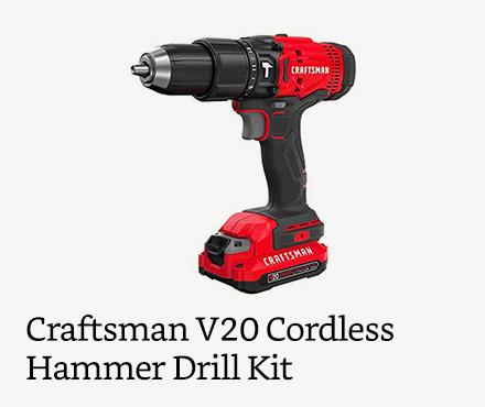 Craftsman V20 Cordless Hammer Drill Kit