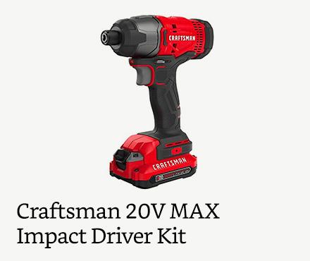 Craftsman 20V MAX Impact Driver Kit