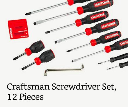 Craftsman Screwdriver Set, 12 Pieces