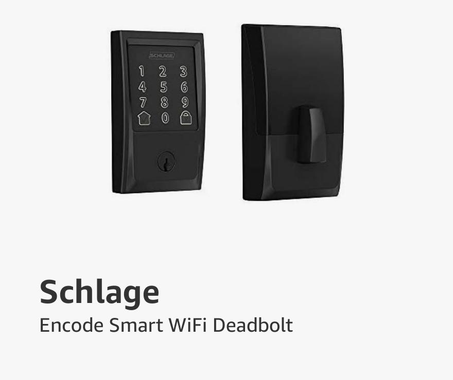 Schlage Encode Smart Wifi Deadbolt